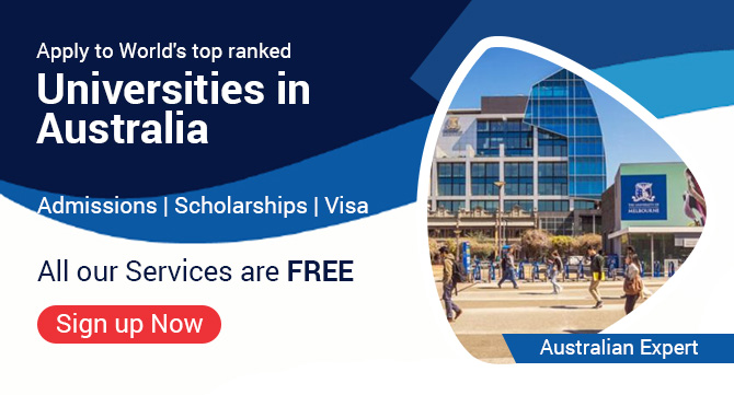 Apply to World's top ranked Universities in Australia